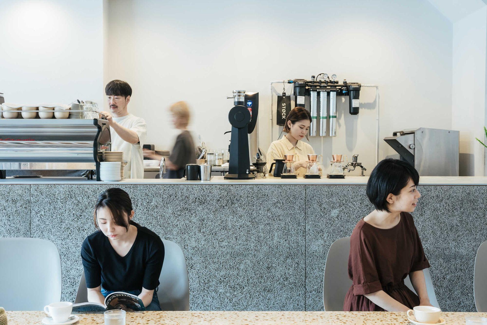 NAGASAWA COFFEE 店内