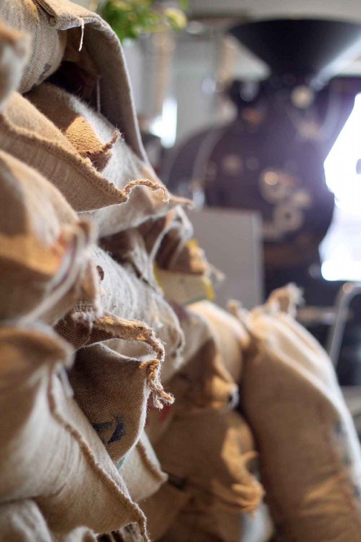 コーヒー豆の卸販売